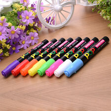 8PCS/SET Colors Liquid Chalk Markers Fluorescen Chalkboard Marker Blackboard Pen