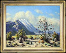 Paul Grimm Original Landscape Painting Oil On Canvas Authentic Hand Signed Art