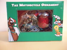 Harley Davidson TAZ Motorcycle Ornament Warner Bros. Studio NEW 1998