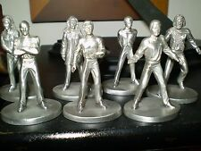 Rawcliffe Pewter.STAR TREK GENERATIONS CREW OF THE ENTEPRISE