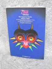 LEGEND OF ZELDA Majora's Mask Complete Guide Book N64 Condition C
