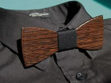 Wooden Bow Tie HandMade Men's Gift Fashion Wedding