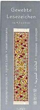 Blütenranken Orientteppich Gewebtes Lesezeichen Läufer Puppenhaus Miniatur 1:12
