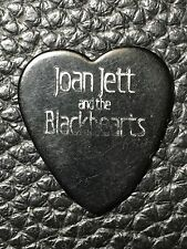 JOAN JETT - REAL VINTAGE STAGE USED TOUR GUITAR PICK