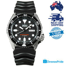 SEIKO JAPAN MADE DIVER AUTOMATIC SCUBA MENS WATCH 200M SKX007J Rubber Strap