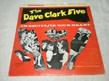 The Dave Clark Five Chaquita / In Your Heart LP Cortleigh Ricky Astor & The Swit