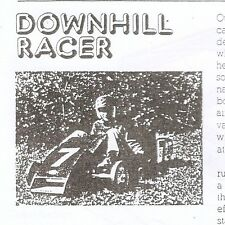 Downhill Racer Popular Mechanics Vintage Car Driver Sam Posey Parts Plans wheels