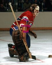HOFer #29 Ken DRYDEN MAKES a Pad SAVE Montreal CANADIENS Custom LAB 8X10 NEW WOW