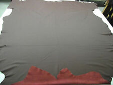 UPHOLSTERY LEATHER Leather COWHIDE Colour burgundy NEW 1 Skin 5,79 qm