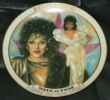 DANBURY MINT Movie Star HOLLYWOOD Walk Of Fame JOAN COLLINS Collector PLATE
