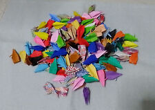 150 of handmade folded‐paper craft miniature origami crane Japan gift
