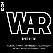 WAR CD - ICON:THE HITS (2010) - NEW UNOPENED