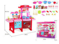 LARGE CHILDREN KIDS KITCHEN COOKING ROLE PLAY PRETEND TOY COOKER GAME SET XMAS