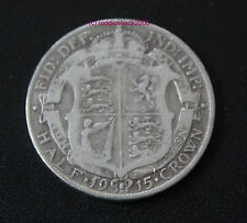 1915 King George V Half Crown Coin. 92.5% SILVER Birthday  Anniversary