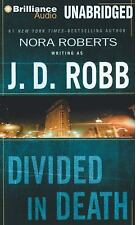 DIVIDED IN DEATH unabridged audio book on CD by J.D. ROBB (Nora Roberts)