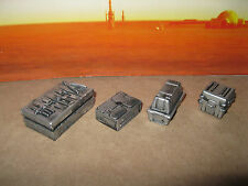 Star Wars G.I. Joe Custom Cast Crates Set of 4 Diorama Parts 3.75 Scale Figures