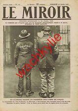 Le miroir n°112 du 16/01/1916 Hameln Kralievo Plevlié aviateurs Hospenthal