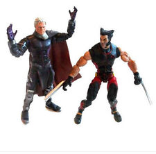 "Marvel Comics LEGENDS x men magneto Vs Wolverine 6"" TOY FIGURE SET LOTTO, Logan"