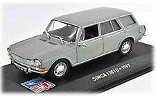 W81 Simca 1301U Comerciale Van 1967 1/43 Scale Grey New in Display Case