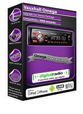 VAUXHALL Omega DAB Radio, Pioneer CAR stereo DAB USB AUX Lettore + DAB Antenna