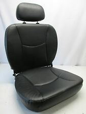 "New Captain Seat for Shoprider - Black Vinyl - 23"" W x 20"" D"