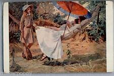 G. BUTLER The golden hour L'heure dorèe Donnina PC Circa 1917 Salon de Paris