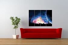 PAINTING  FANTASY SPACE SCENE PLANET GALAXY GIANT ART PRINT POSTER NOR0821