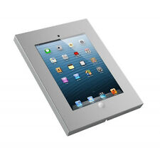 Anti furto d'Argento caso Custodia sicura Supporto A Parete Armadietto Apple iPad 2 3 4 Air