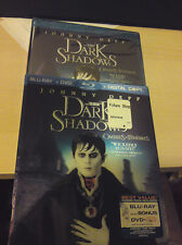 Dark Shadows Blu-ray DVD set w/ Lenticular Slipcover Exclusive Slip Johnny Depp