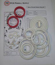 1980 Zaccaria Space Shuttle Pinball Machine Rubber Ring Kit