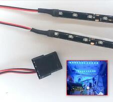 BLUE MODDING PC CASE LIGHT LED KIT (TWIN 40CM STRIPS) MOLEX 40CM TAILS