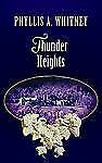 Fiction - Thunder Heights by Phyllis A. Whitney - Hardcover Book - Large Print
