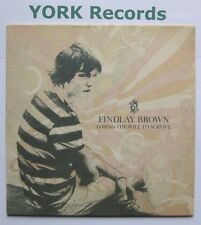 """FINDLAY BROWN - Losing The Will To Survive - Excellent Con 7"""" Single Peacefrog"""