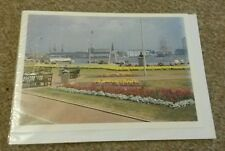 Solent Cards - Portsmouth Harbour from Ferry Gardens 2002 Blank Greetings Card