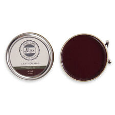Bass Wax Polish for all Bass Leather Shoes Boots Black, Tan, Neutral and Wine