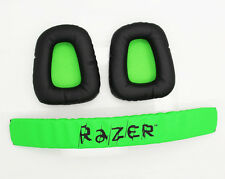Replacement Ear Pad & Headband Ear Cushion Cover for Razer Electra Gaming Music
