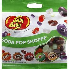 SODA POP SHOPPE - Jelly Belly Candy Jelly Beans - 3.5 oz BAG - 12 PACK
