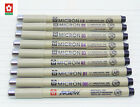 9pcs Sakura pen Pigment  Micron Fine Line Pens Various models Art Supplies