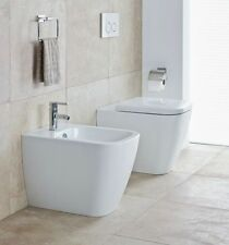 SANITARI HAPPY D.2  DURAVIT  WC + BIDET + COPRIWC BIANCO MADE IN ITALY