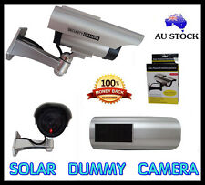 1 PCS FAKE DUMMY SOLAR LED OUTDOOR IP CAMERA ALERM SECURITY CCTV WATERPROOF