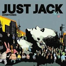 Just Jack - Overtones, original release UK CD with original sticker on front