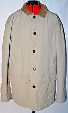 LL BEAN Men's Canvas Barn Field Coat Jacket Quilted Thinsulate Lining - Large