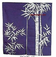 Japanese Noren Doorway Curtain Bamboo 33.5x35.5 pcos-43 S-2712