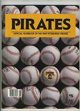 1989 Pittsburgh Pirates Yearbook