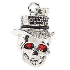 8 GB Chiavetta di memoria USB Stick Cranio Teschio Cappello Pirata NUOVO