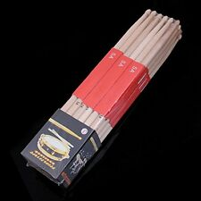Pack of 6 Pairs Drum Stick 5A Maple Wood Drum Sticks Drumsticks