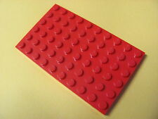 LEGO 3033 @@ Plate 6 x 10 (x1) @@ Plaque @@ RED @@ ROUGE