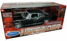 WELLY 1:24 W/B HOT RIDER COLLECTION - 1965 CHEVROLET IMPALA SS 396 Diecast Car