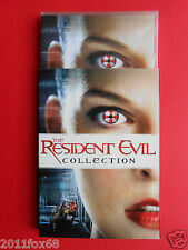 film box 4 dvds milla jovovich resident evil apocalypse extinction afterlife new