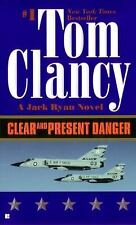 A Jack Ryan Novel: Clear and Present Danger 4 by Tom Clancy (1990, Paperback)
